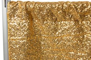 Gold Glitz Sequin